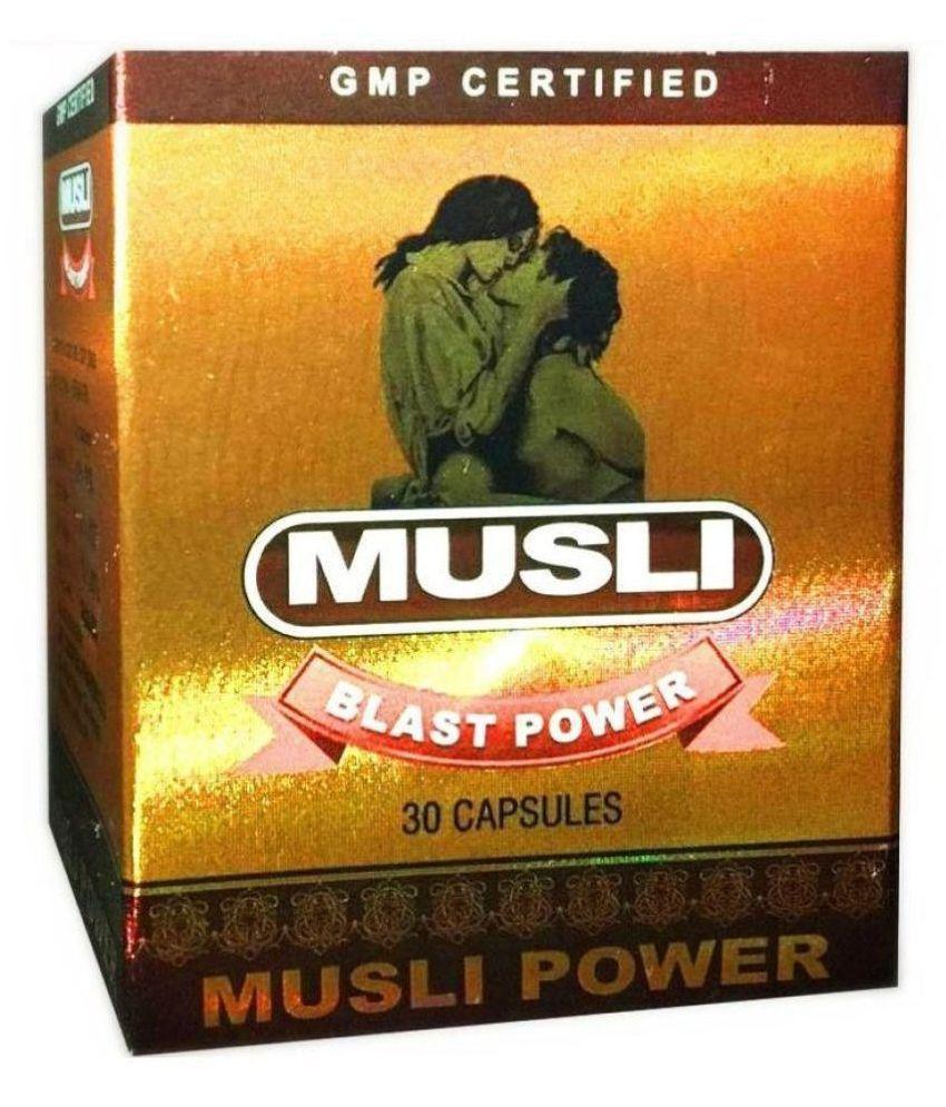 Dr.Chopra Musli  Blast Power  pack of 30 x 2 Capsule 60 no.s Pack Of 2