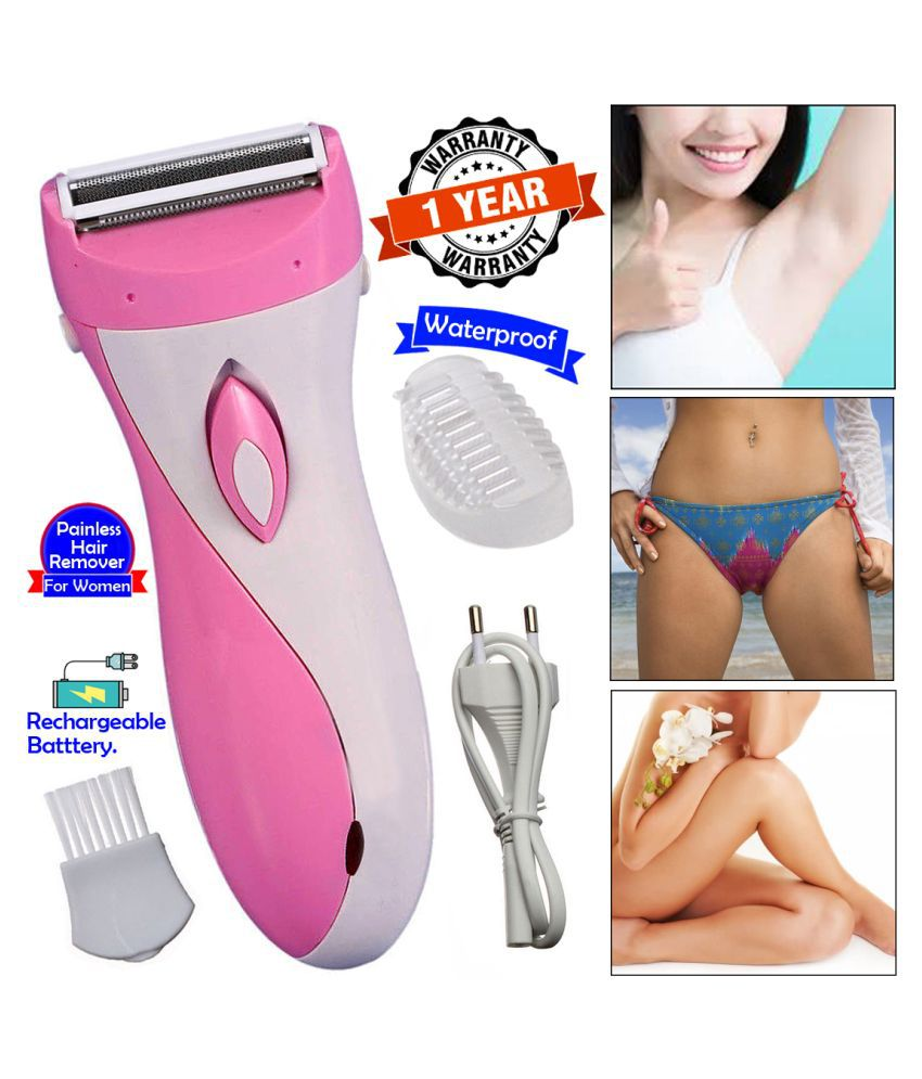 BK 2in1 Ladies Rechargable Waterproof Foil Shaver 3 Blade Razor Trimmer Epilator Multi Casual Fashion Comb