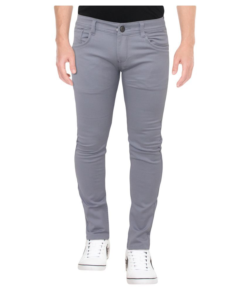 HYMEN LEGIONS Dark Grey Regular Fit Jeans