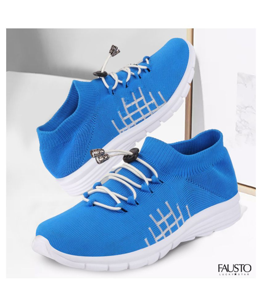 Fausto Outdoor Blue Casual Shoes