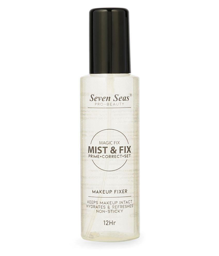 Seven Seas MAGIC FIXER Prime + Correct + Set Face Makeup Setting Spray