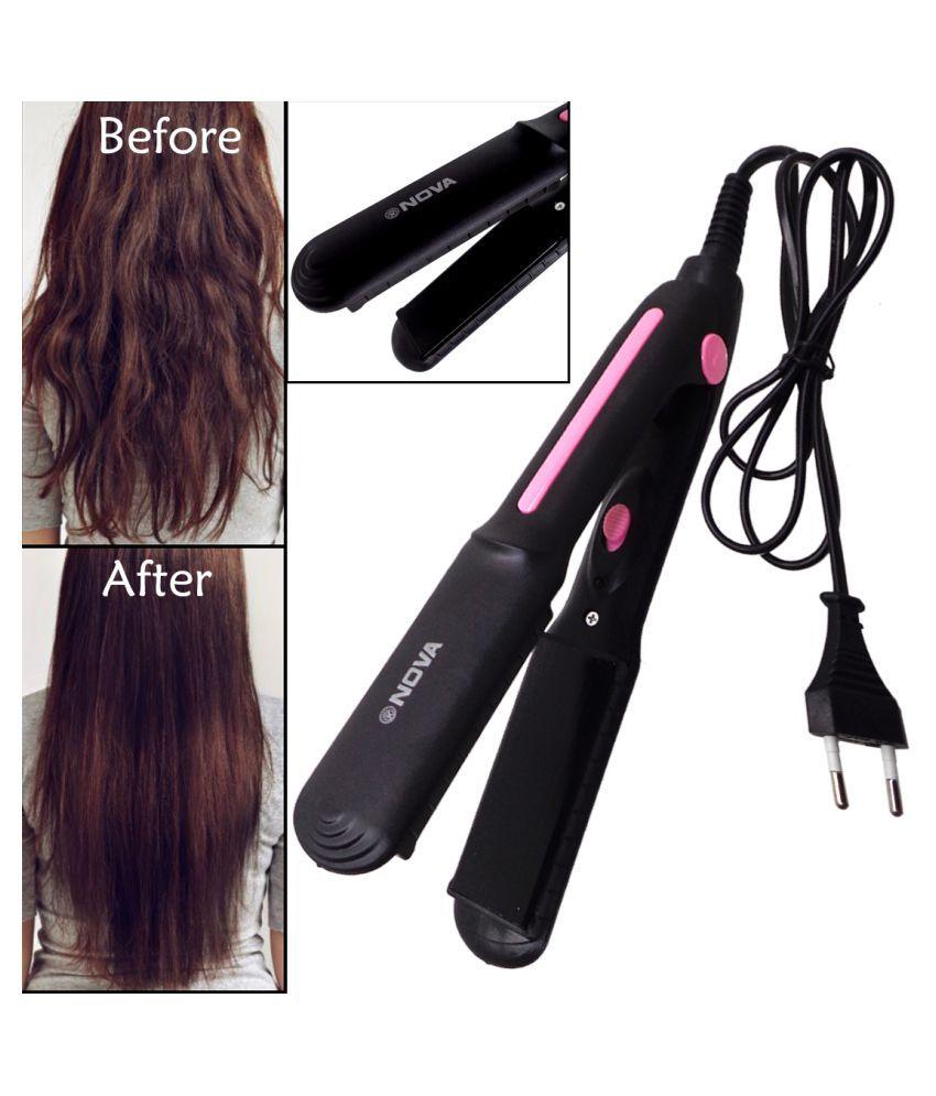 30W Professional Ceramic Plate Hair Straightener Fast Anti-Static Hair Iron Multi Casual Fashion Comb