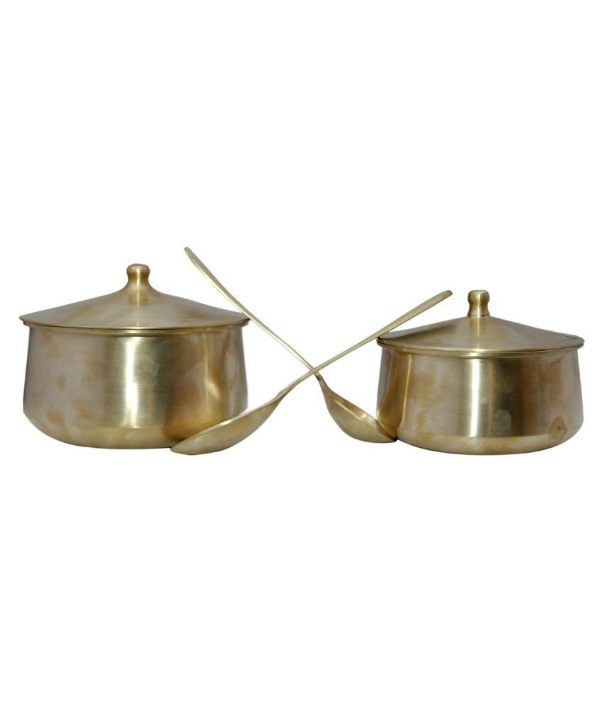Generic Bronze Dinner Set of 2 Pieces