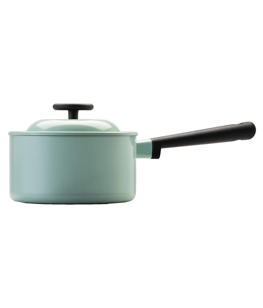 Lock & Lock LDE1181IH Ceramic Aluminum Sauce Pan 18 cm 2400 mL