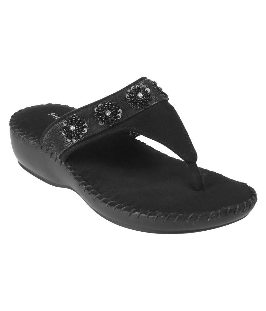 SHOEBIRD Black Flats