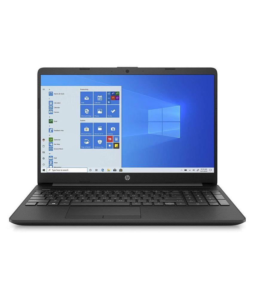 HP 15 11th Gen Intel Core i3 Thin  amp; Light 15.6 inch FHD Laptop  4 GB DDR4/1TB HDD/M.2 Slot/Windows 10 Home/MS Office/Jet Black/1.76 Kg , 15s du3053
