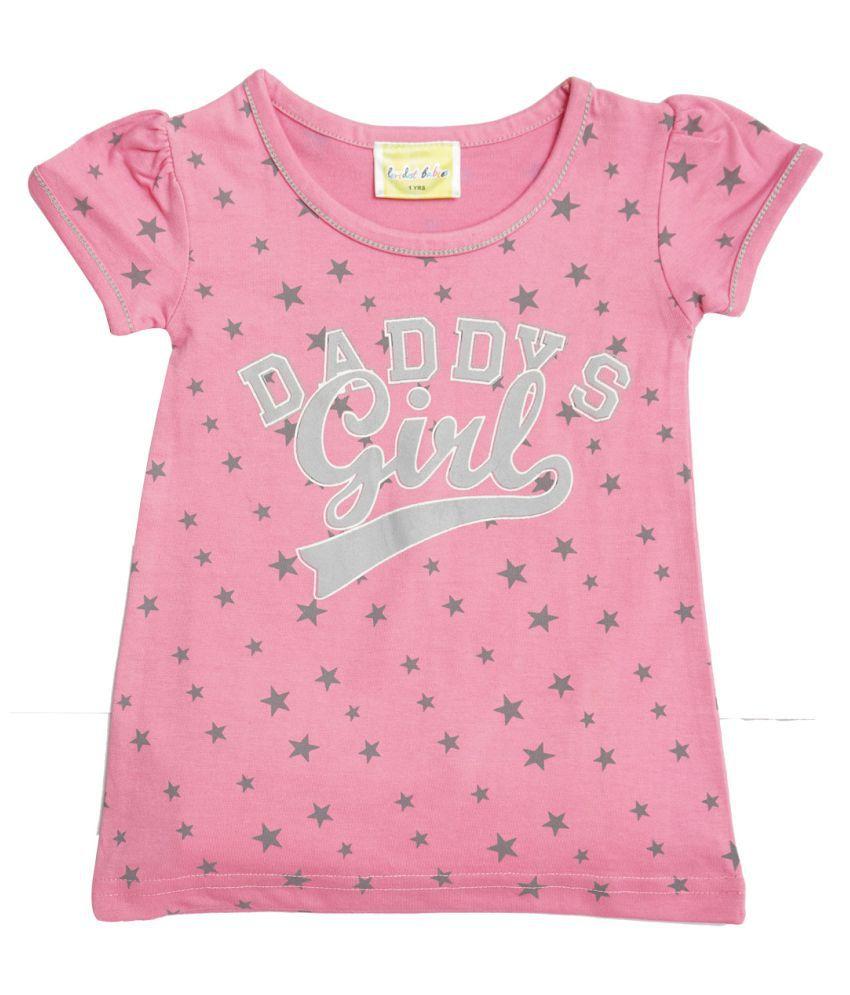 Peridot girls printed Cotton Night wear  Top Pyjama Set