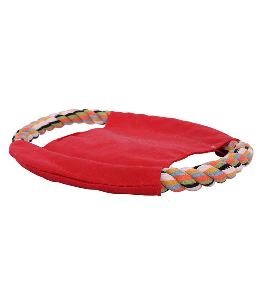 Emily Pet Throw Rope Ring Chew Toy  For Dog & Cat