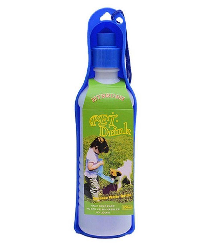 KUTKUT Portable Travel Water Dispenser Bottle for Dog-Cat (250 ml) | Blue…