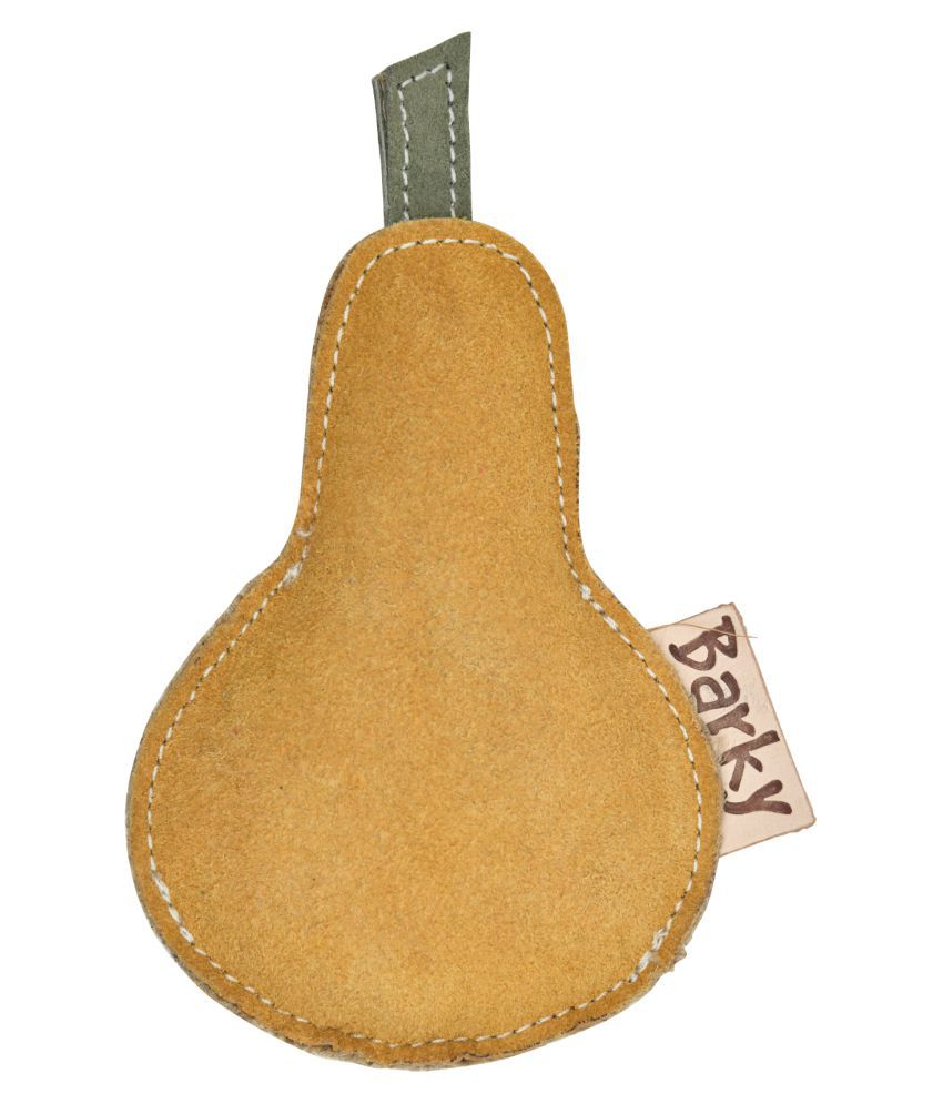 BARKY Pet dog Chewable Pear Toys for your loveable pets to play always