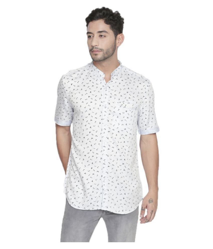LION & HESS 100 Percent Cotton White Shirt