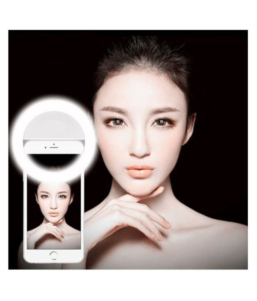 Vayu White NA Selfie Flash Light   10 cm