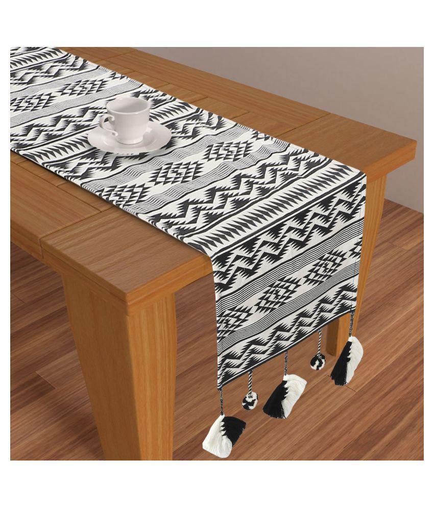 mezposh 4 Seater Polycotton Single Table Runner