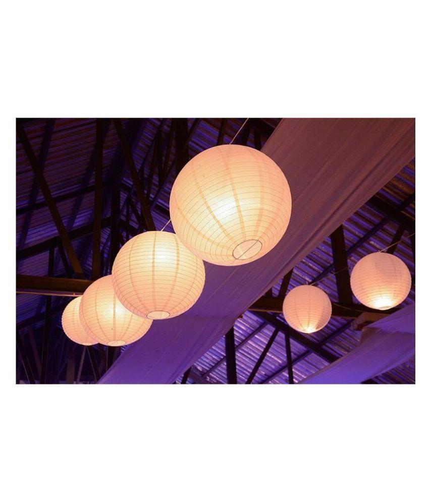 Shuangyou Hanging Lanterns - Pack of 5