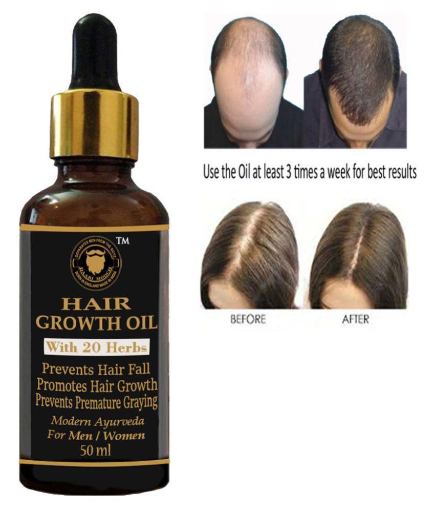 DAARIMOOCH ONION Hair Oil for Hair Growth -Anti Hair Fall Oil 50 mL Tube Glass Container