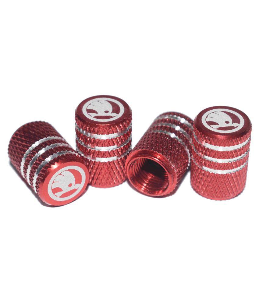 INCOGNITO Tyre Valve Caps Skoda Set of 4