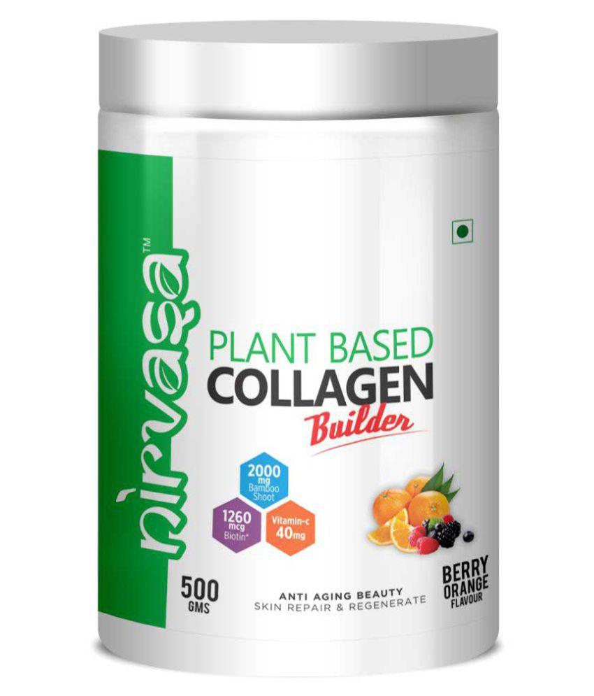 Nirvasa Plant Based Collagen Powder 500 gm Powder
