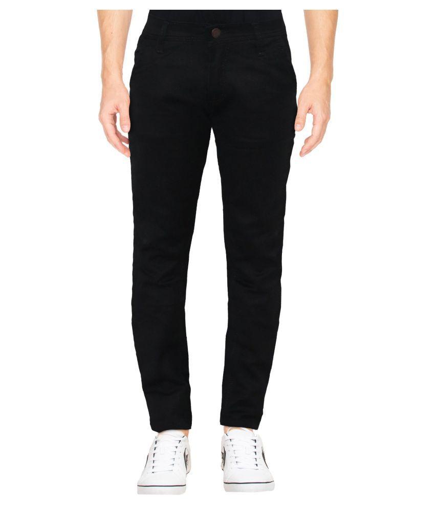 HYMEN LEGIONS Black Regular Fit Jeans