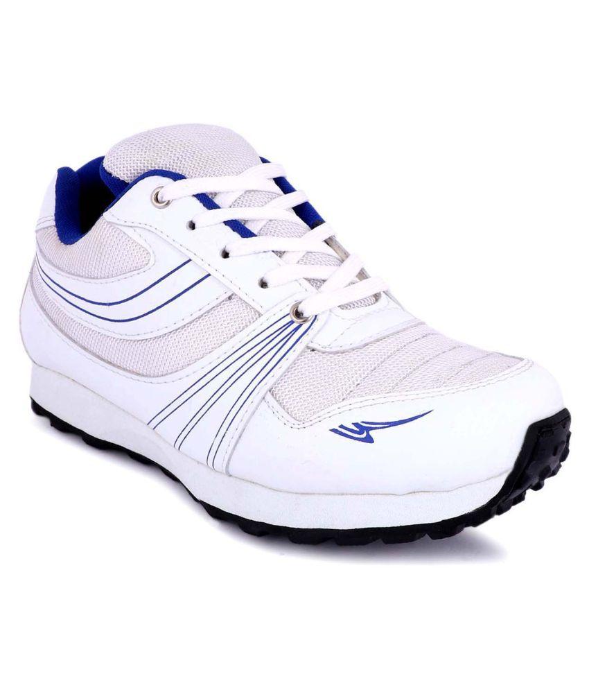 zorik White Running Shoes