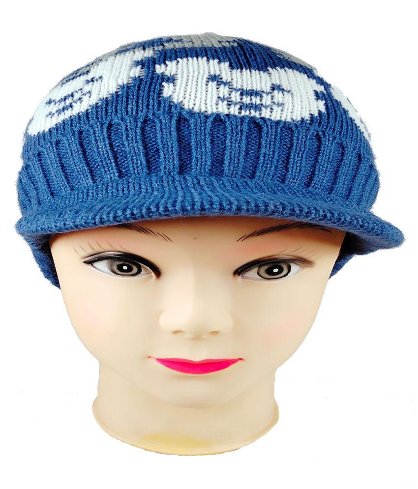 Warmzone Kids Winter Cap Striped Multi Color (0253C)
