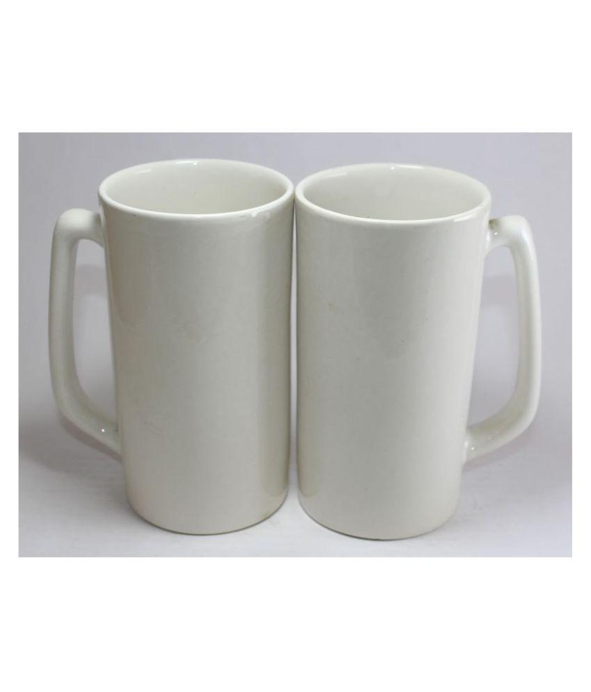 designo prints na Ceramic Coffee Mug 2 Pcs 525 mL