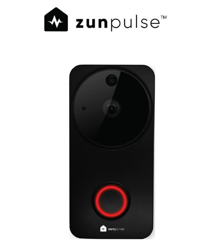 zunpulse smart Wi-Fi camera with integrated doorbell and 2-way communication