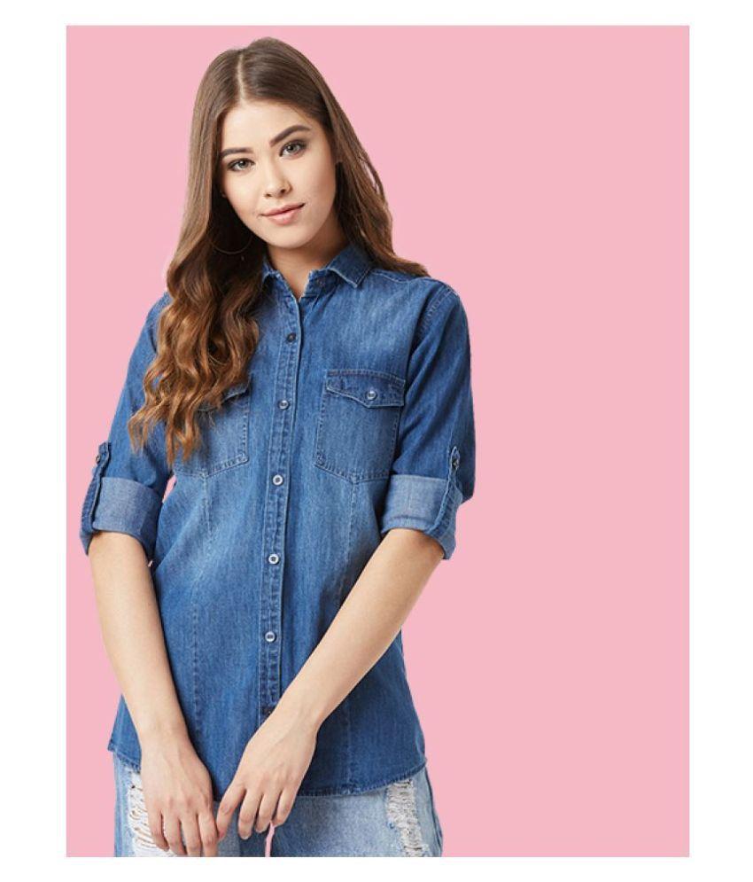 The Dry State Blue Denim Shirt