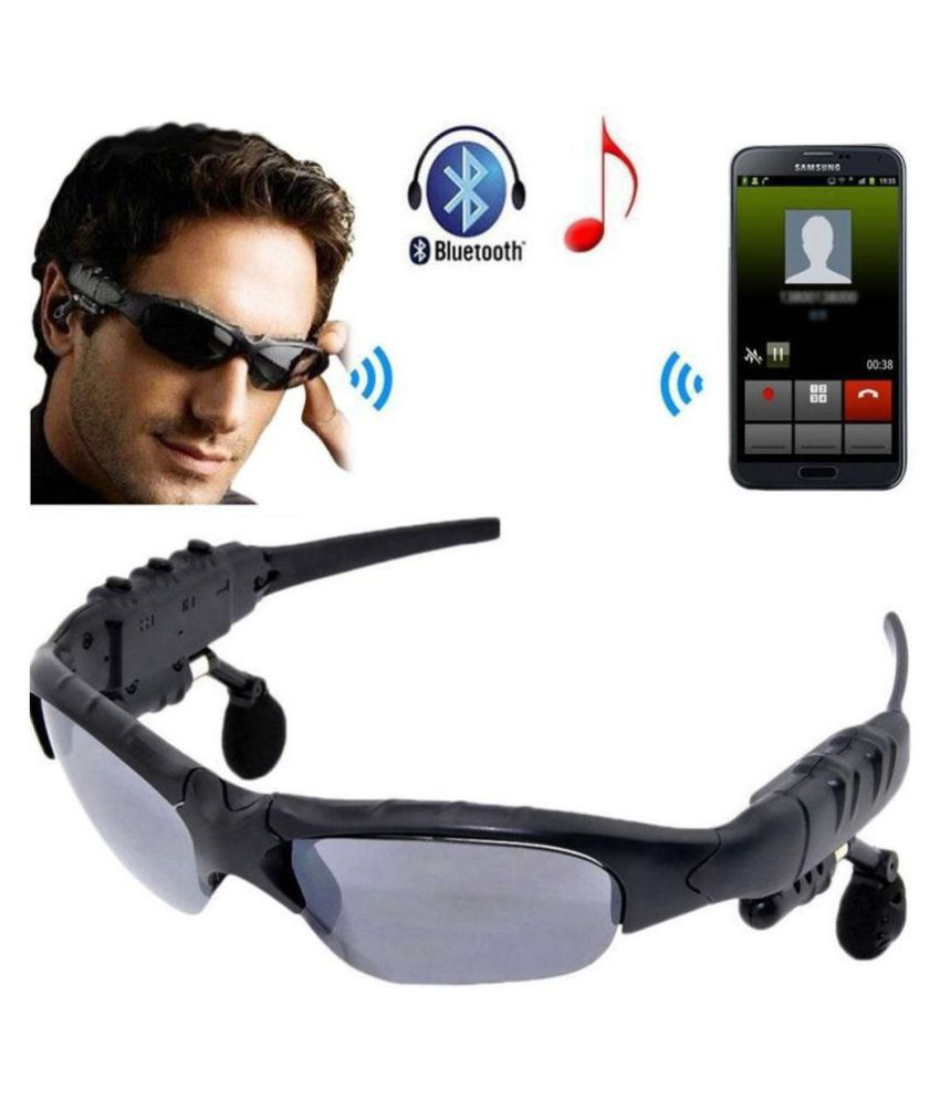 MCSMI Viki Wireless Bluetooth Headsfree - Black (Calling & Music) Compatible with Samsung , apple , Mi & other mobile phone