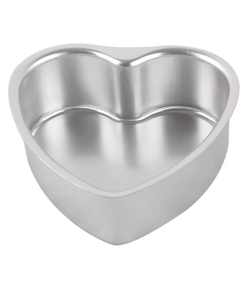 Reena Heart Shape Aluminium Cake Mould