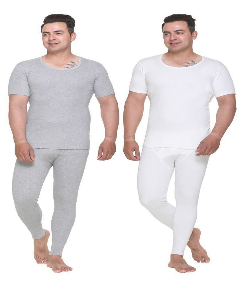 WARMZONE Light Grey Thermal Sets Pack of 2