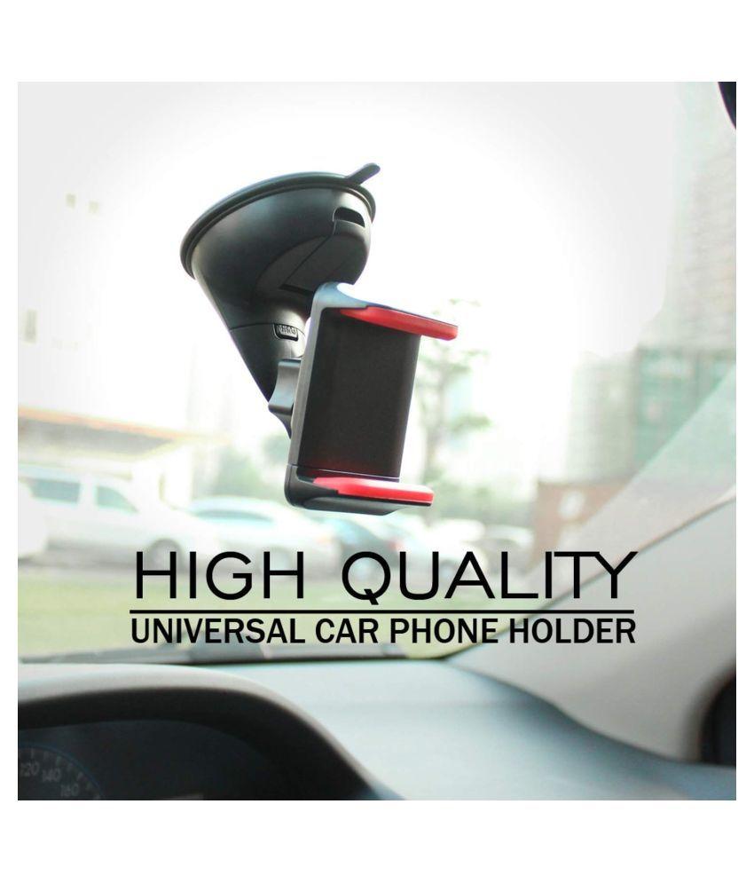 thriftkart Car Mobile Holder Single Clamp for Dashboard  amp; Windshield   Multicolour