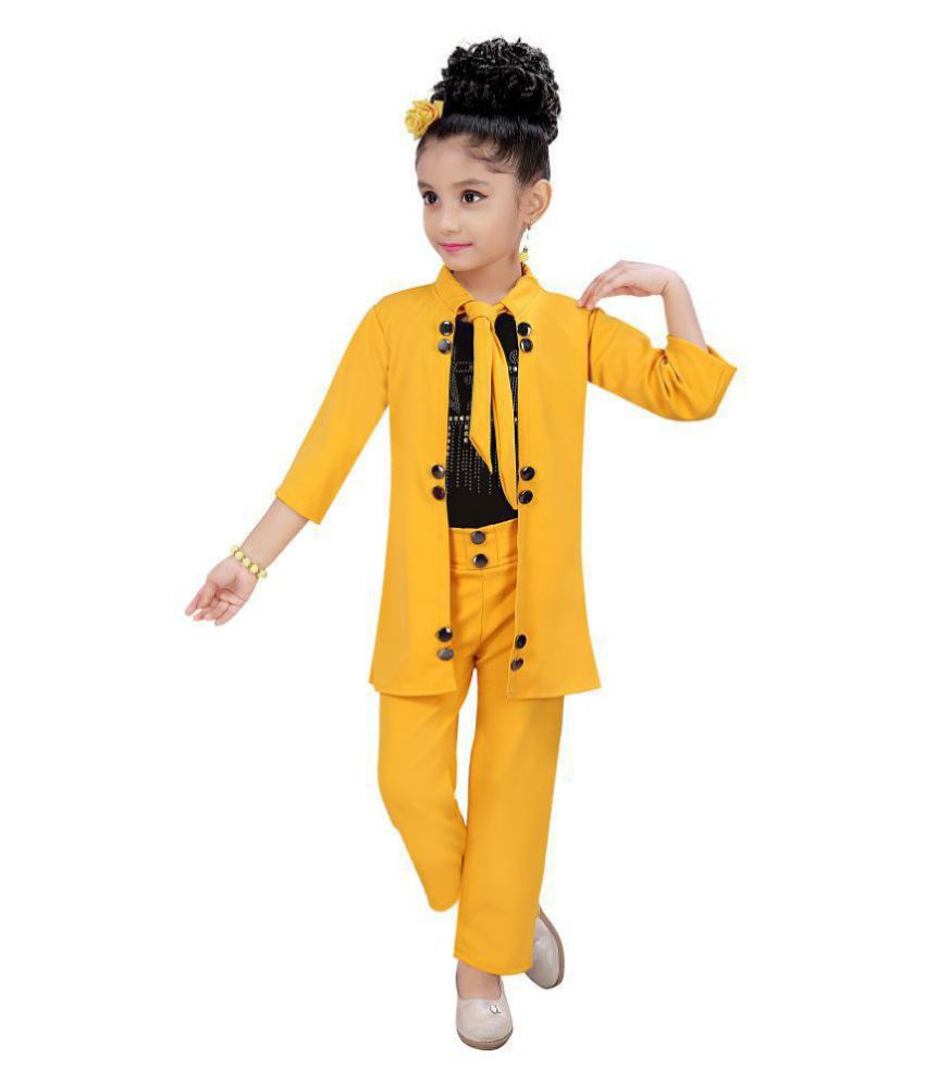 Elegant 3 piece top and bottom set for girls