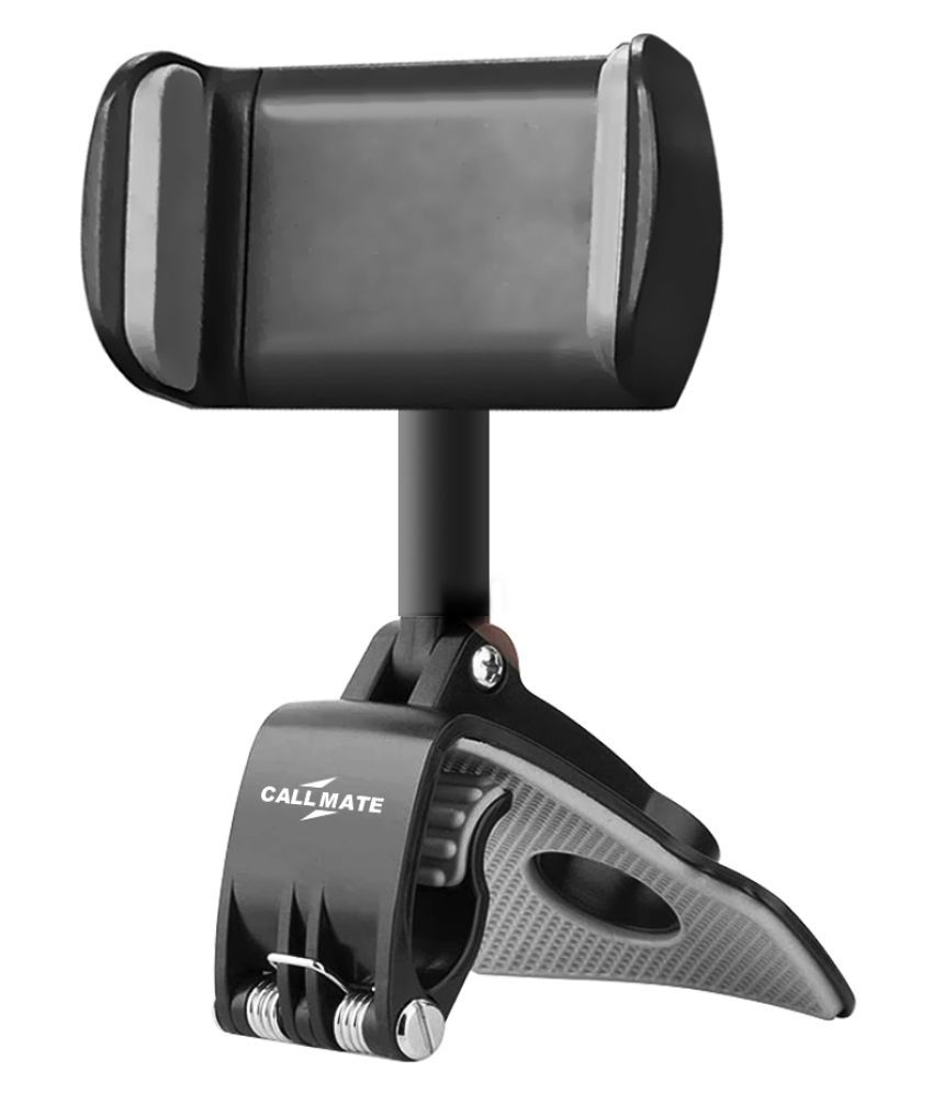 Callmate Car Mobile Holder Single Clamp for Other Surfaces - Black
