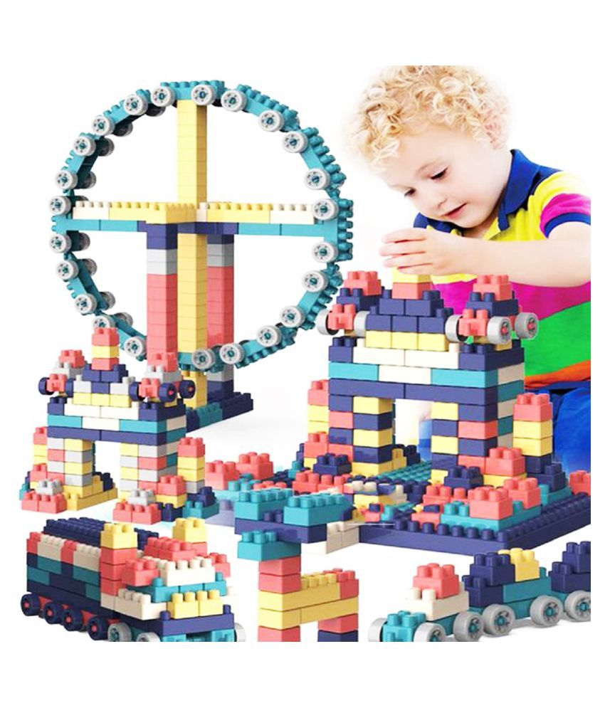 DIY 72 PCS Building Blocks Learning and Educational Toys for Kids