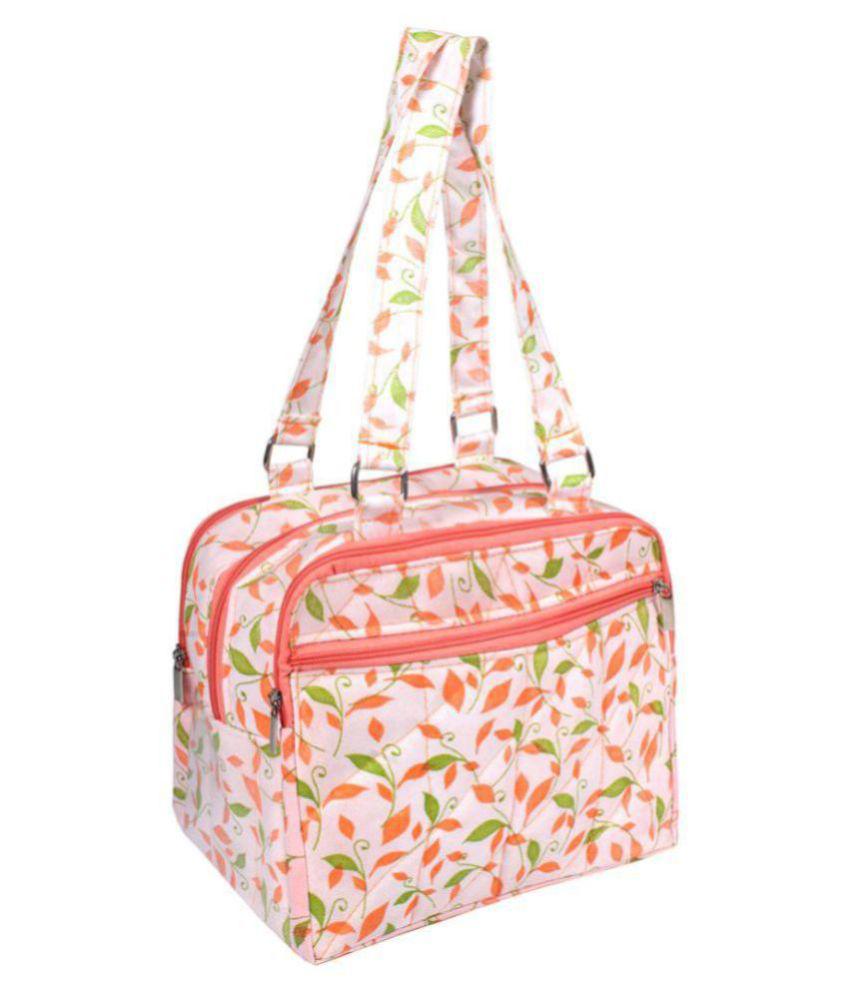 PrettyKrafts Multi Fabric Shoulder Bag