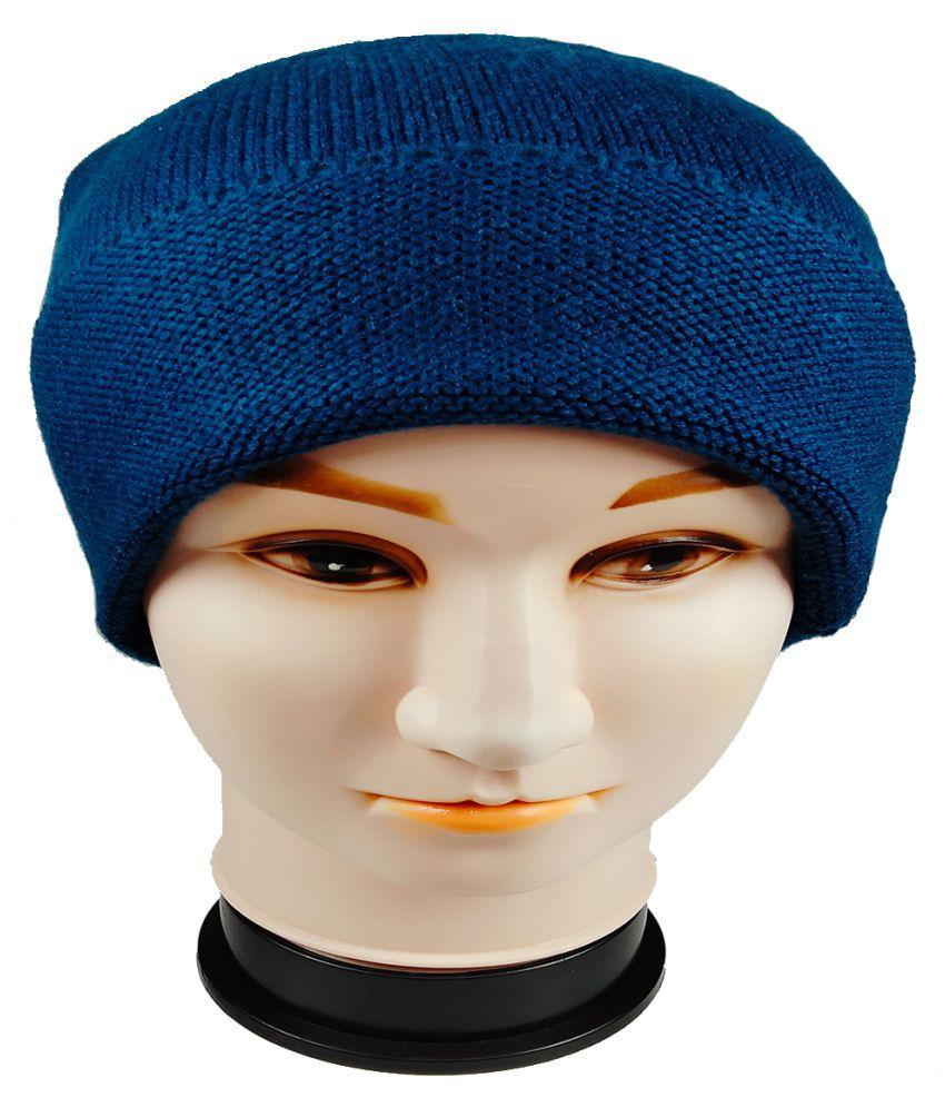 WARMZONE Blue Plain Acrylic Caps