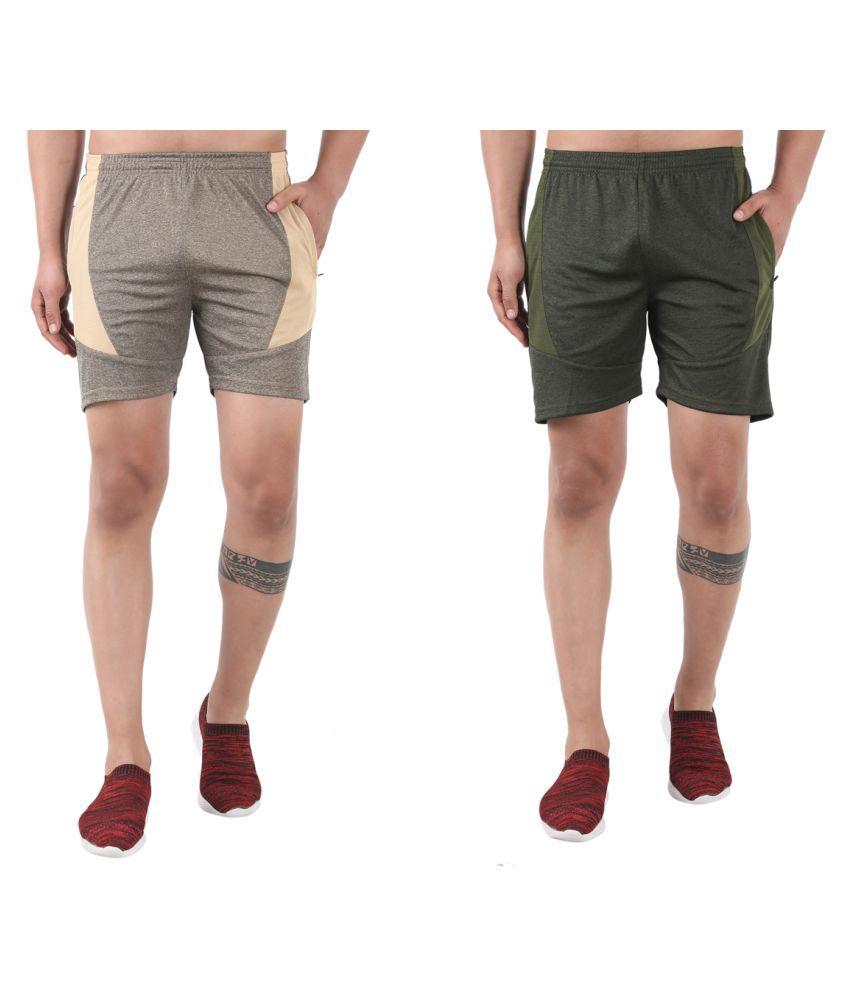 Gag Wear Multi Shorts