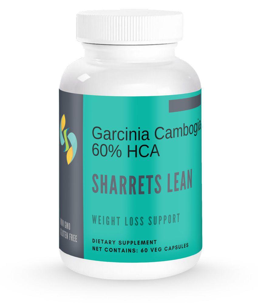 SHARRETS NUTRITIONS LEAN - Gardenia Cambogia (60% HCA)  2x60 Capsules 120 no.s Unflavoured