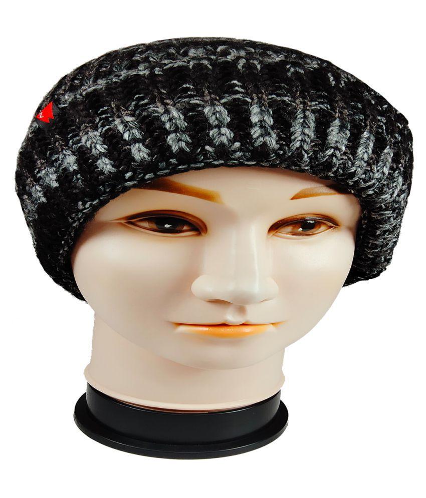 WARMZONE Black Striped Acrylic Caps