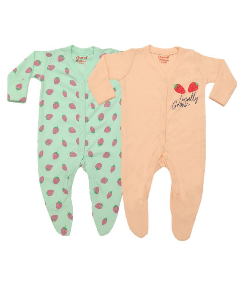 Oswal Sleep Suit Combo For Babies