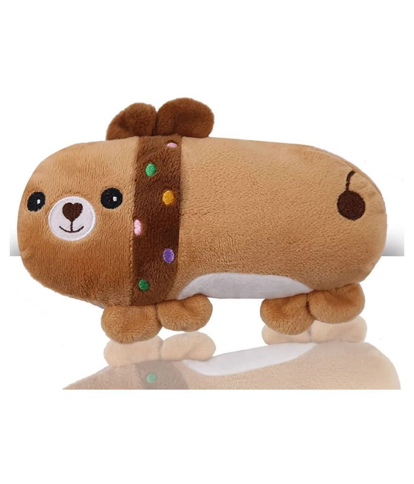 KUTKUT Cute Pet Squeaky Plush Toy For Puppy and Small Dogs
