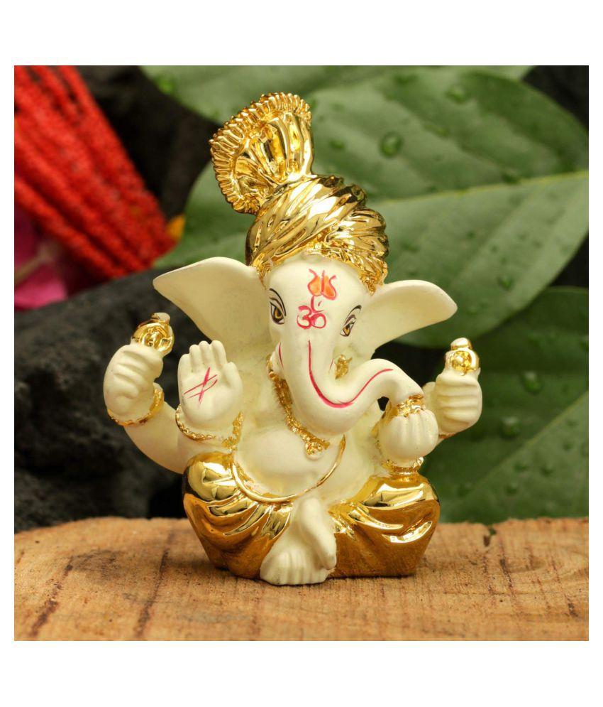 Ganesh Gold Divinity Idols Golden