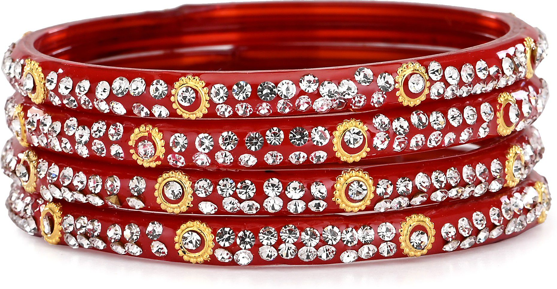 Somil Designer Bridal Glass Bangle Set For Party Marriage, And Function, Ornamented, Colorful -S11_2.6