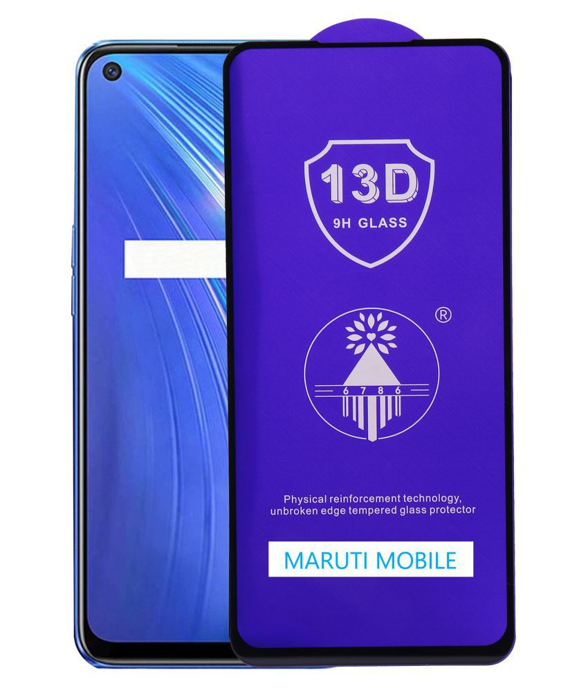 Realme 6I Tempered Glass by maruti mobile