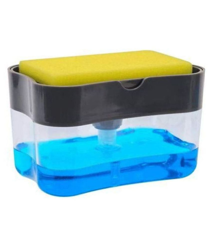 ASQURE 2 in 1Pump Plastic Dispenser for Dishwasher Liquid Holder, PACK OF 1