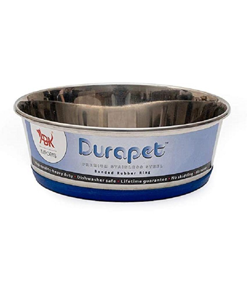 Durapet Dog Bowl with Silicone Bonding at Bottom (2700 ml)