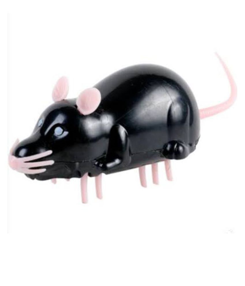 Emily Pets Interactive Robot Mouse With Battery Toy For Cats