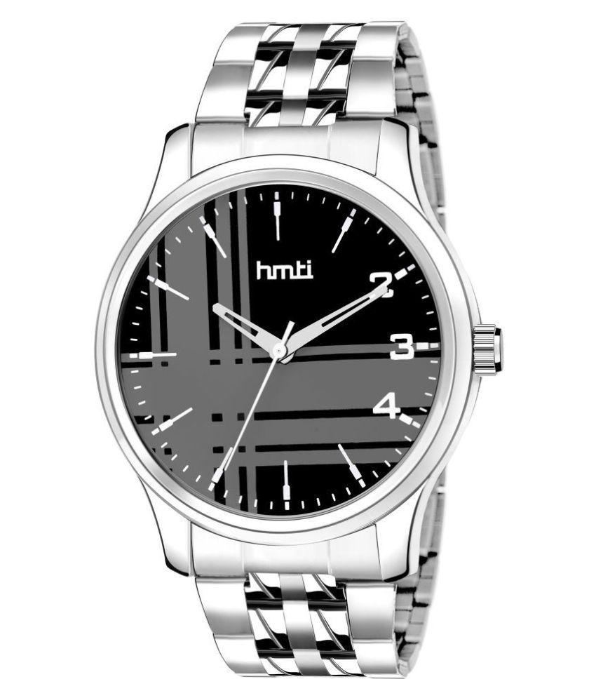 HMTI 8014 Premium Series Stainless Steel Analog Men #039;s Watch