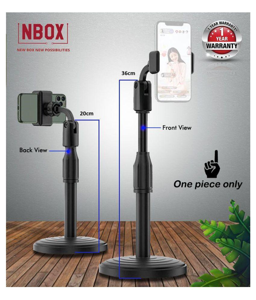 NBOX Adjustable Broadcasting and Recording Desktop Phone Holder