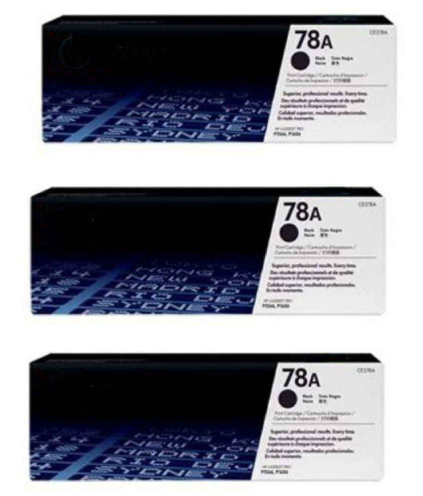 HP 78A Toner Cartridge For Use P1560, P1566, P1606, M1536DN